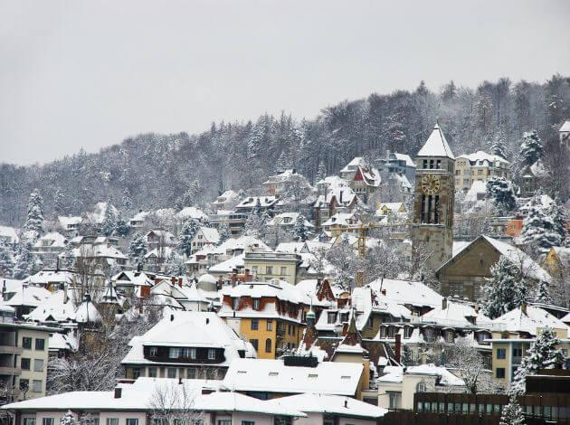 places to go in Europe in January
