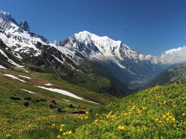 Hiking Tour Du Mont Blanc In October