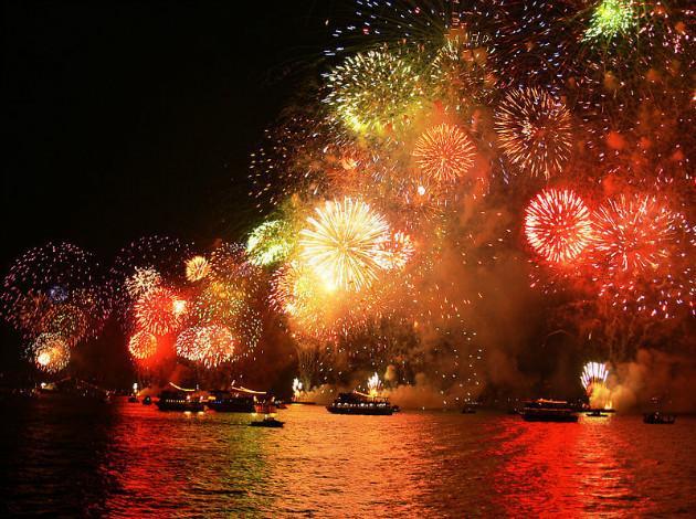 Istanbul - Firework on new year 2019