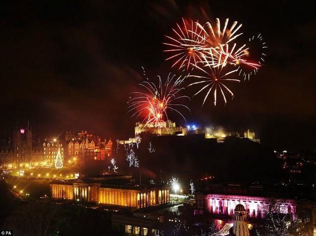 Edinburgh - Europe New year celebration 2019