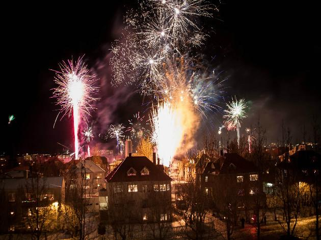 Reykjvik - City to celebrate New year in europe 2019