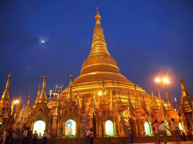 Yangon, Myanmar - honeymoon in a historic city