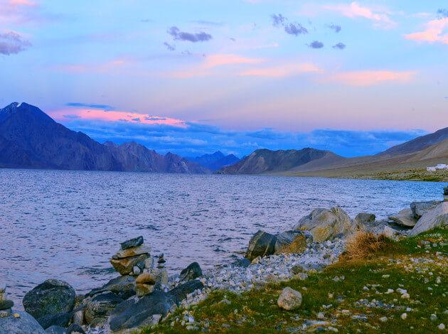 Pangong-Tso, Ladakh - Biggest Lakes in Asia