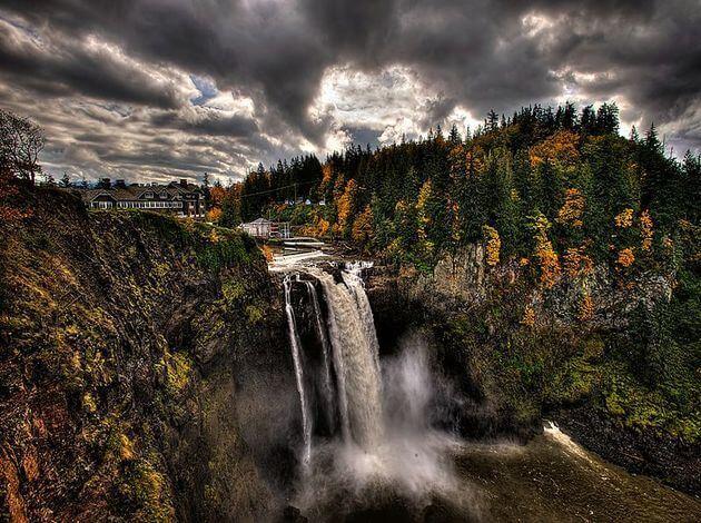 Tallest waterfalls in US