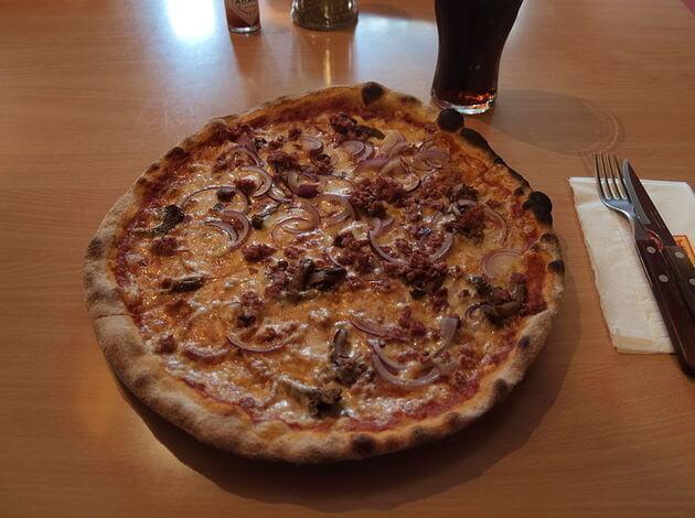Pizza Berlusconi Pizza in Finland