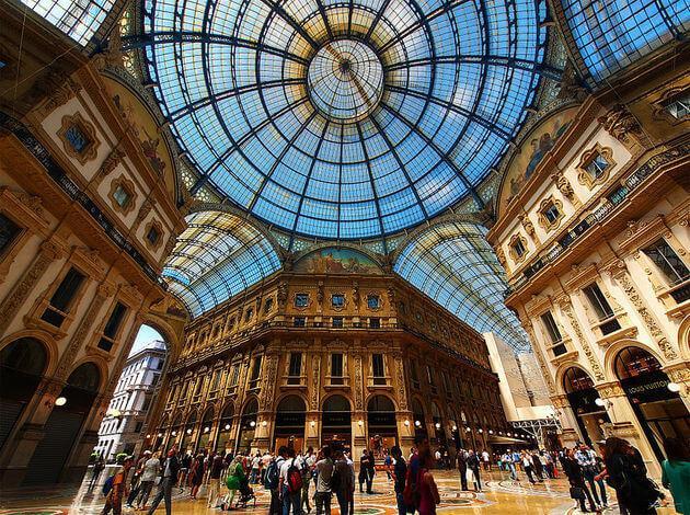 Milan - Shopping Centers in Europe