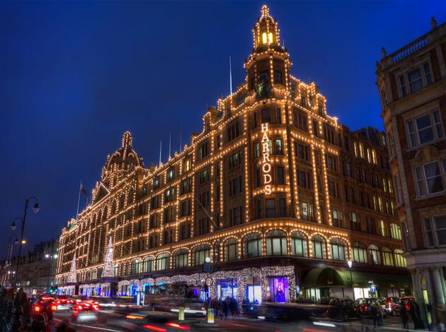 Harrods - London Shopping Centers in Europe