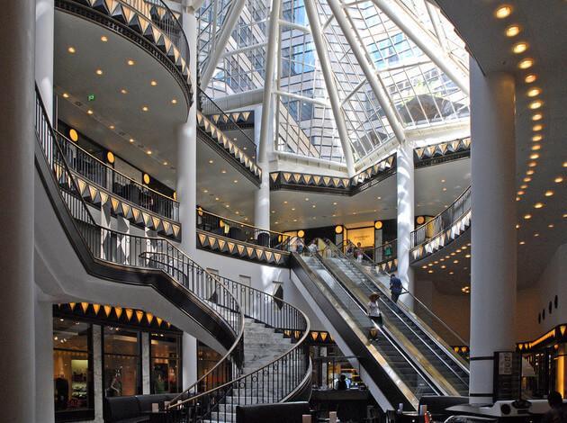 European shopping centers