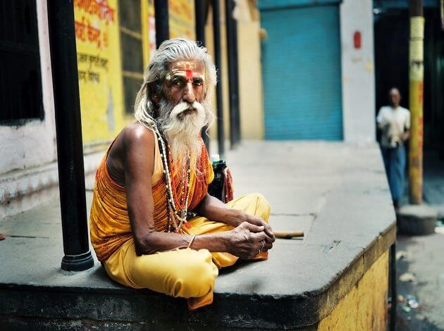 hang out with Sadhus - Image