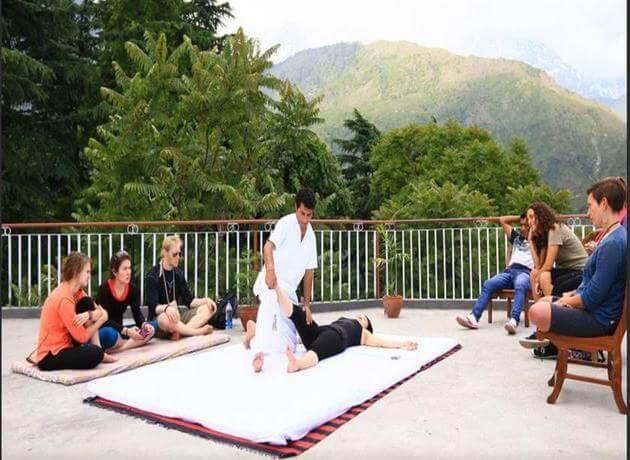 wellness retreat in Dharmashala