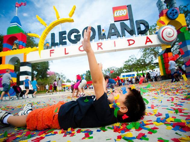 amusement park - spring break destination for entire family