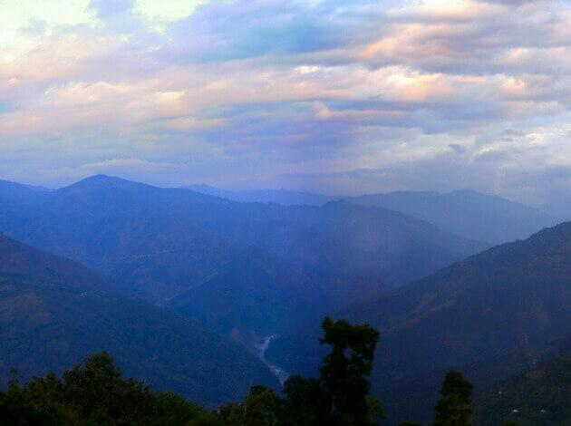 hill station in the West Bengal