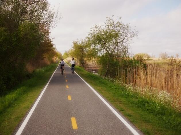 East Bay Bicycle Path, Rhode Island