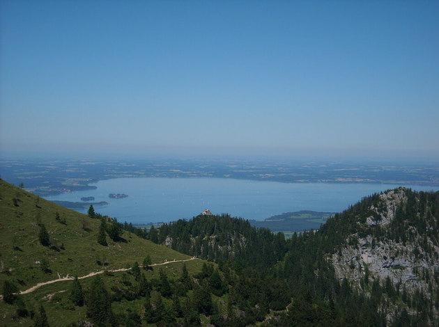 Chiemsee - classic hiking destination