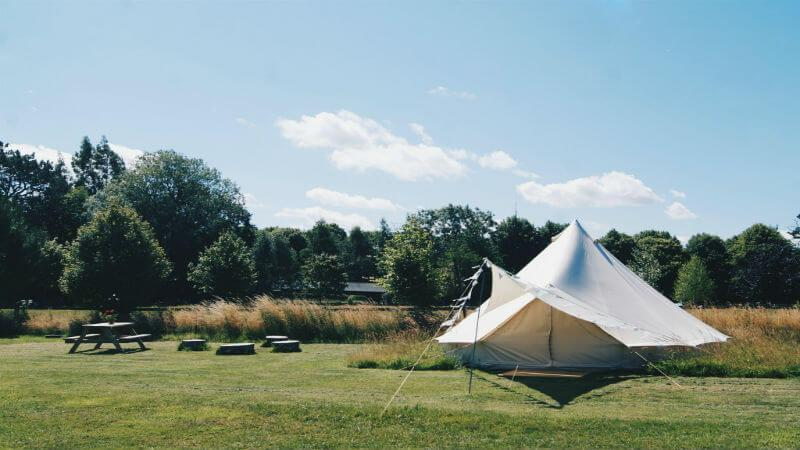 Amber's Bell Tent Camping in Norfolk