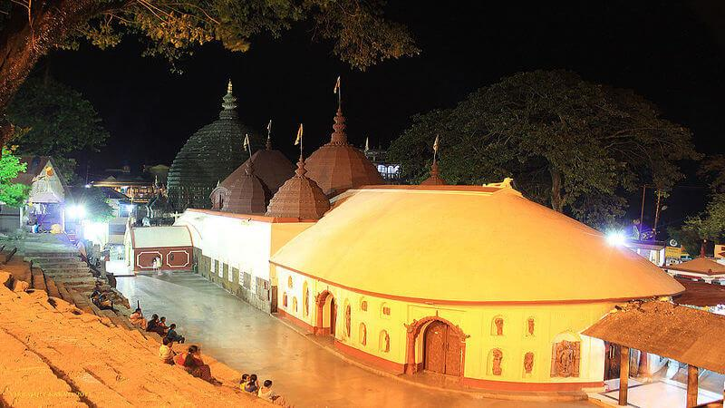 Kamakhya Temple - places to visit in north east India