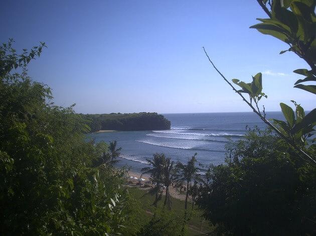 Indonesia beach holiday at Balangan Beach