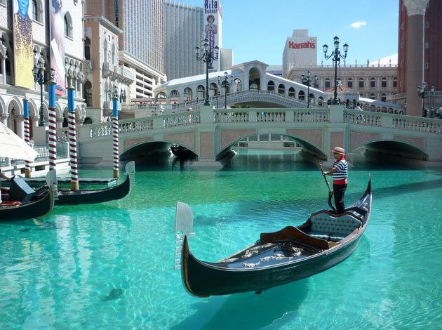 Gondola Ride at Venetian