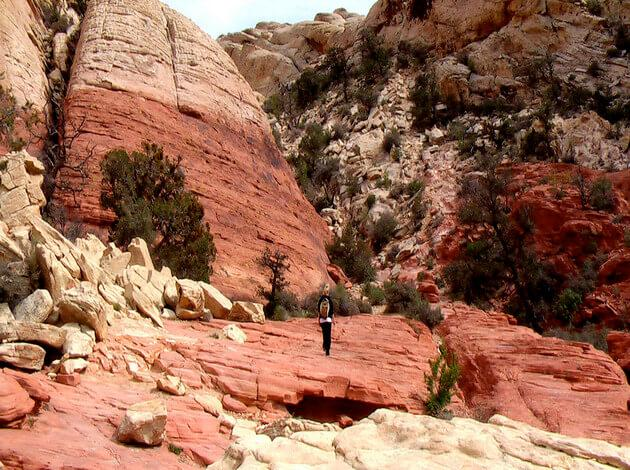 Red Rock Canyon - one day trip from Las Vegas