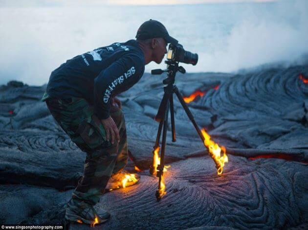 adventurous dare devil photographers