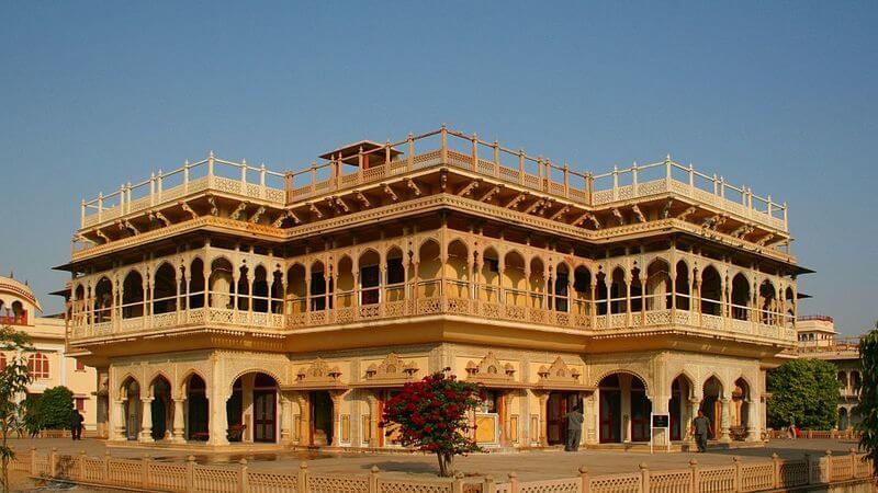 City Palace - one of the most visited tourist attractions in Jaipur