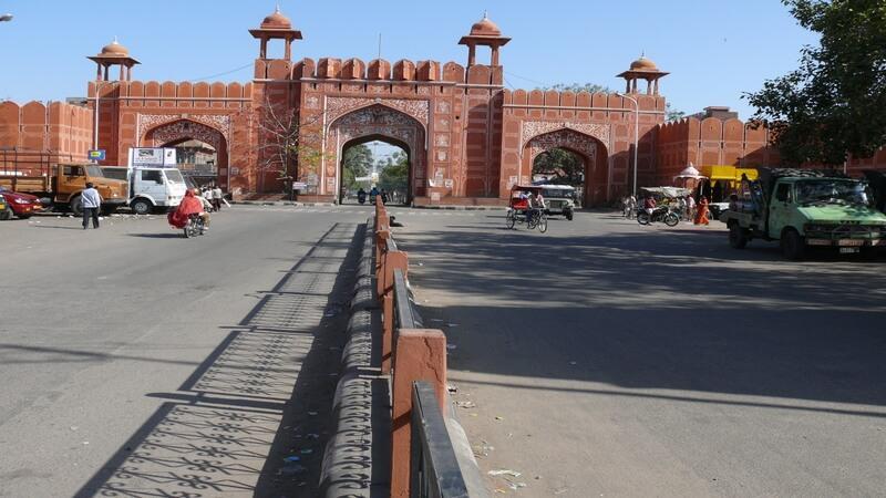 City wall of Jaipur