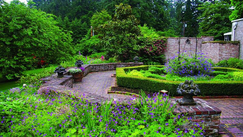 Lakewold Gardens for the scenic views
