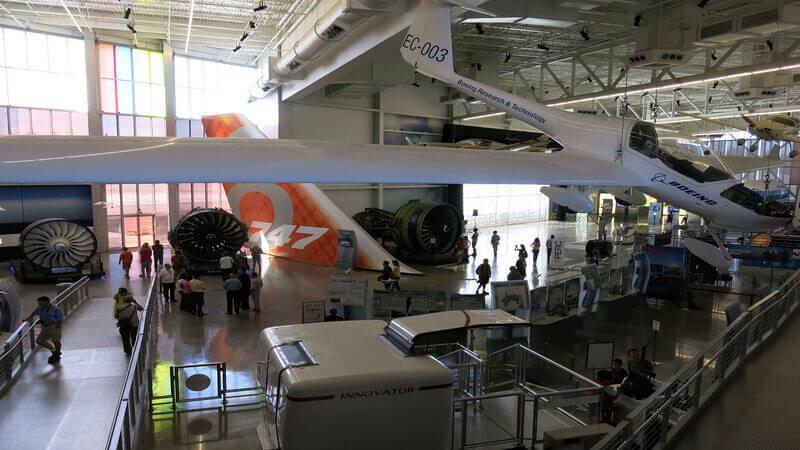 Aviation Center & Boeing Tour