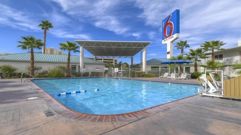 budget accommodation in Las Vegas