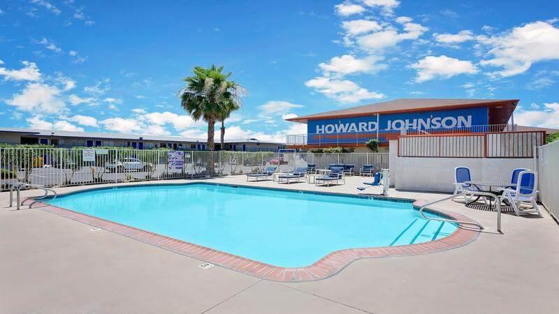 budget motel in Las Vegas