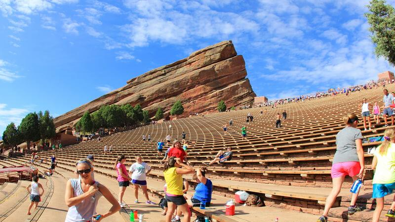 Amphitheater in USA