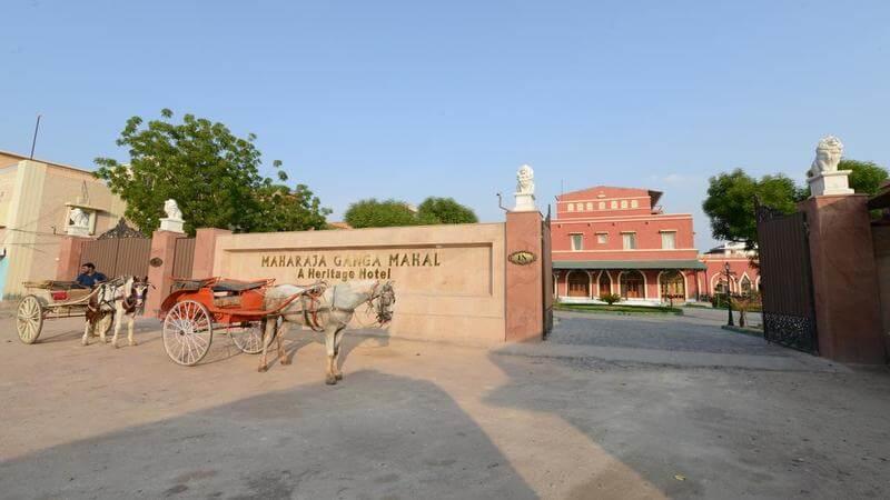Best Resort in Bikaner - Maharaja Ganga Mahal