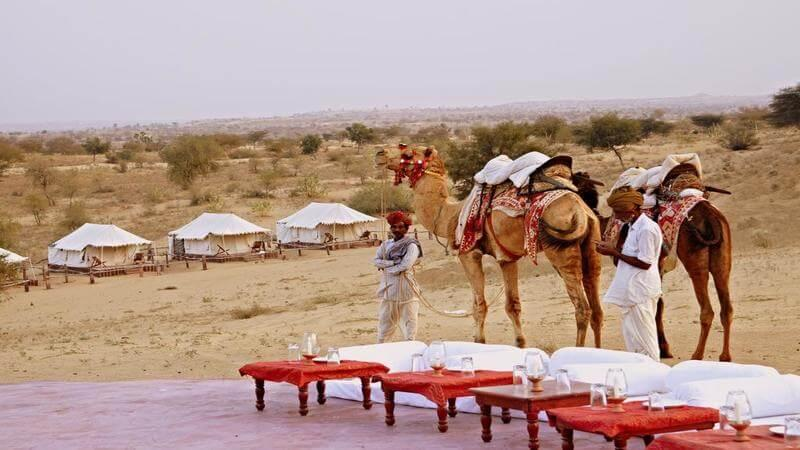 Best Resorts in Jaisalmer - The Desert Haveli Resort & Camp