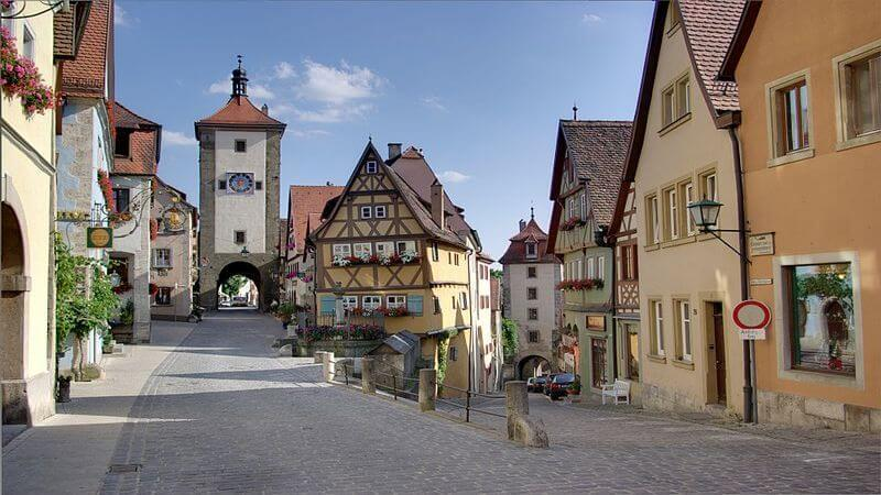 Rothenburg a Warm Place to Visit In Europe
