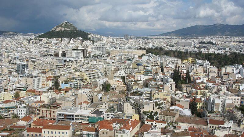 Athens - Must visit places in Europe in December