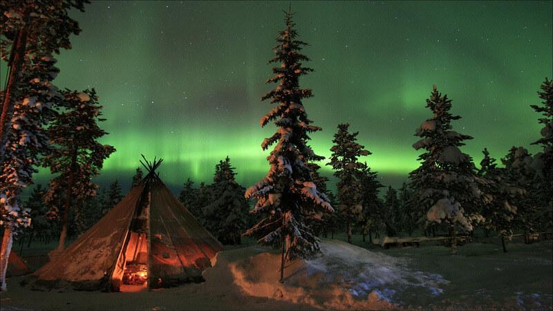 Abisko - December in Europe