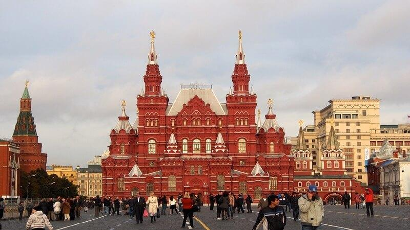 Moscow - Where to Go in Europe in June