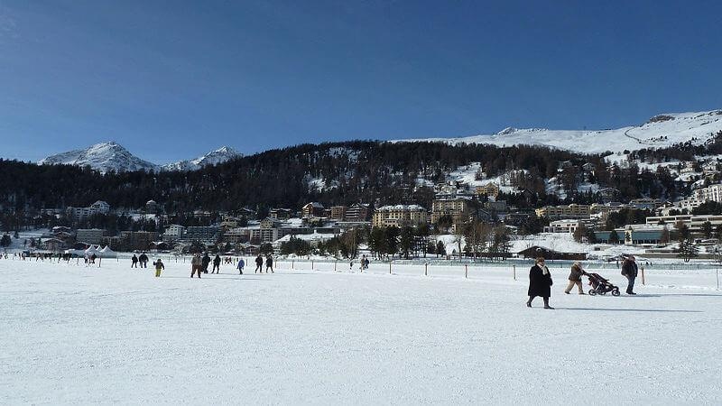 St Moritz - best places to visit in Europe in June