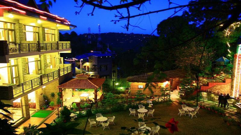 best resorts in kasauli