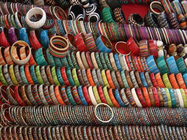 anjuna's wednesday flea market