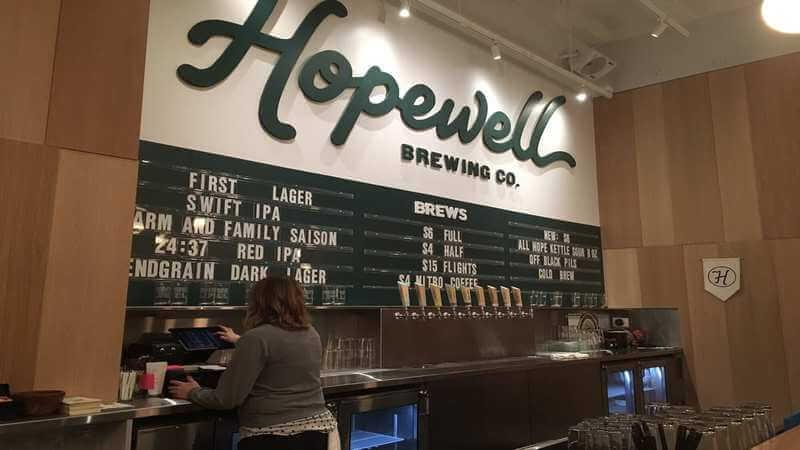 Hopewell Brewing Company - fun dining experience in Chicago