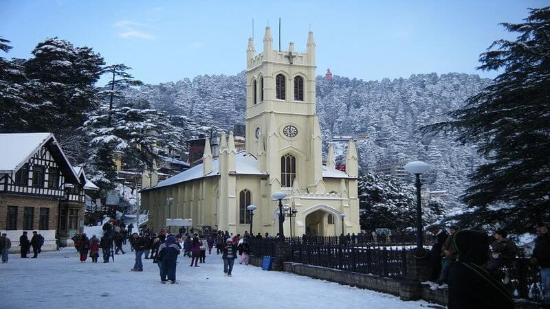 cool place to live in India Shimla
