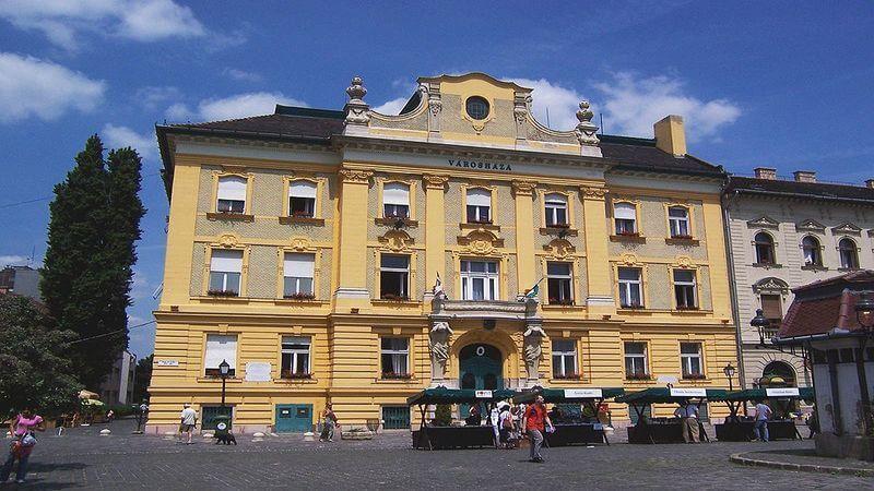 Obuda baroque bourgeois mansions - Image