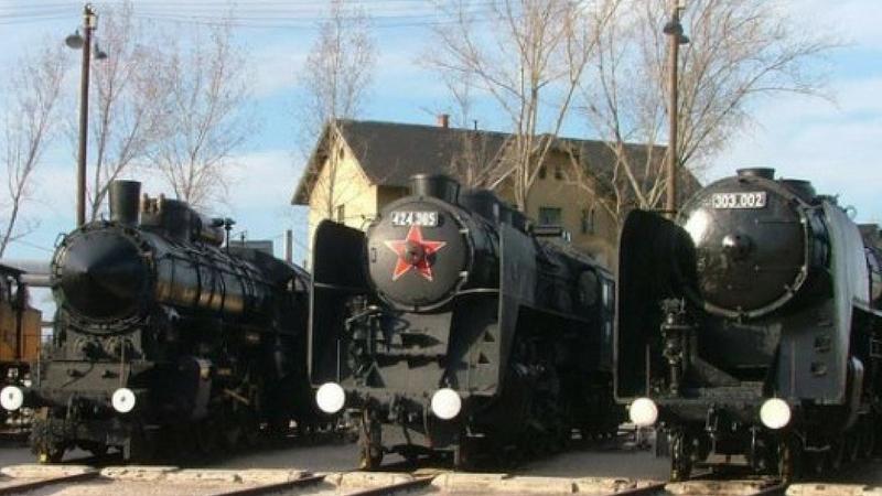 Railway museum Budapest - Image