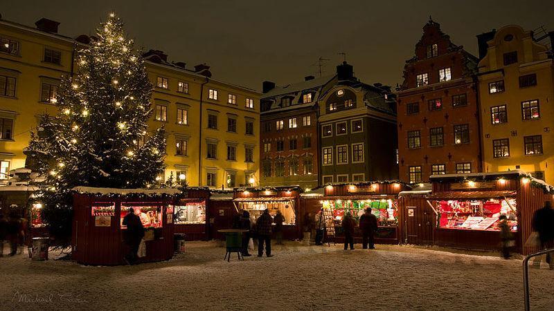 Stockholm - The Oldest Xmas market