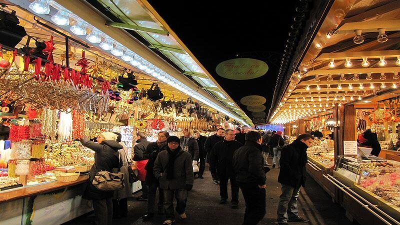 Strasbourg Christmas market in Europe