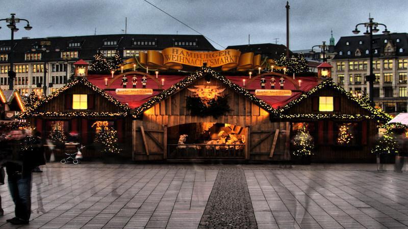 Hamburg - Unique Christmas Market Across Europe