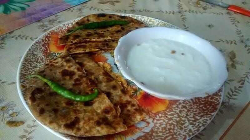 best place to parathas in Bangalore