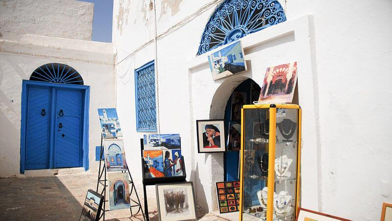 Sidi Bou Said - best destinations in Africa