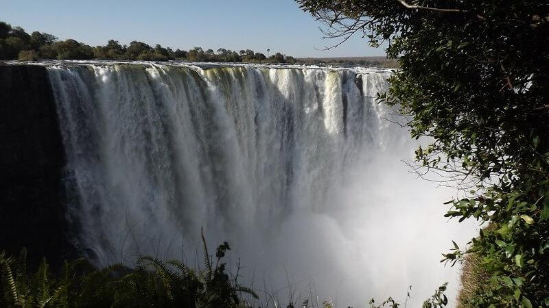 Victoria Falls - top tourist attraction in Africa